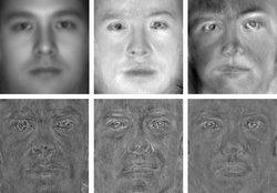 Eigenfaces from scolarpedia